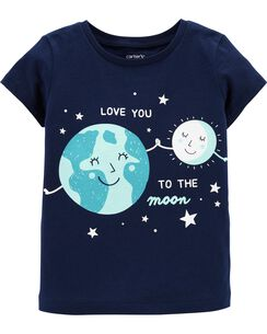 e0c1e9774 Baby Girl Shirts: Tops & T-Shirts | Carter's | Free Shipping