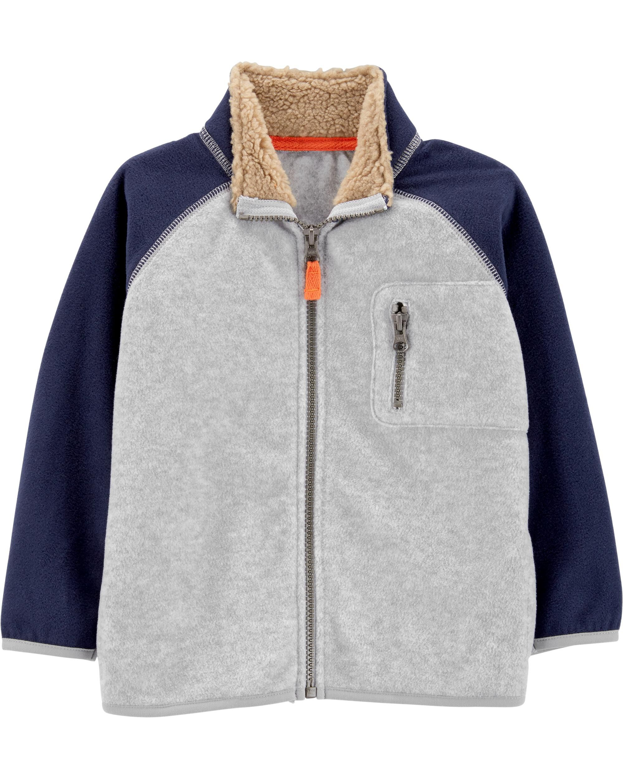 *CLEARANCE* Zip-Up Fleece Jacket