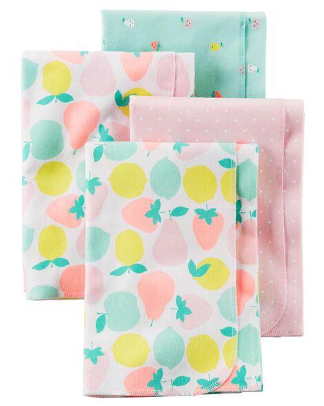 f106b4a10b 4-Pack Receiving Blanket ...