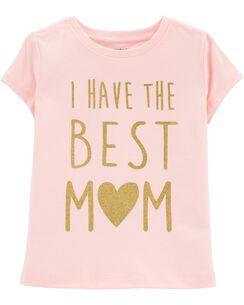 746253e5f Baby Girl Shirts: Tops & T-Shirts | Carter's | Free Shipping