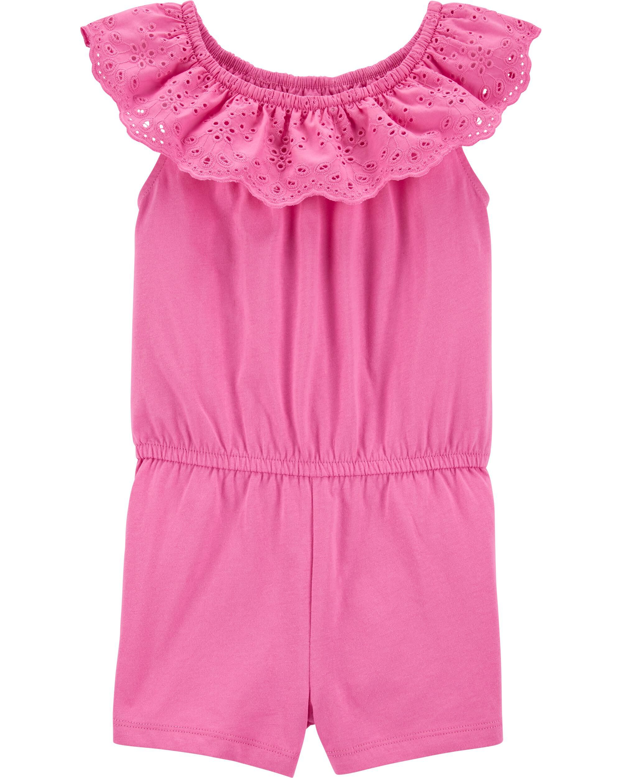 *CLEARANCE* Eyelet Romper
