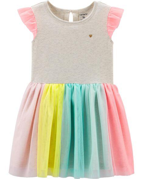 72a1cf846 Rainbow Tutu Dress; Rainbow Tutu Dress ...