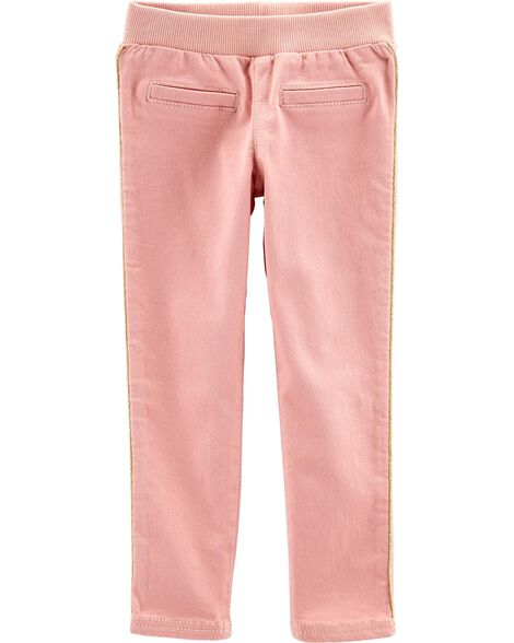 Pull-On Skinny Stretch Pants