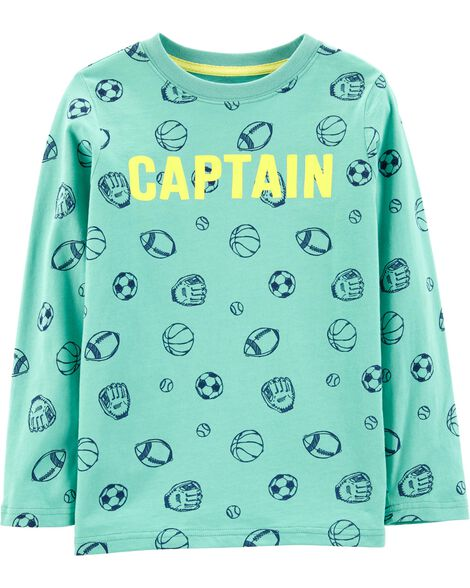 Captain Sports Jersey Tee