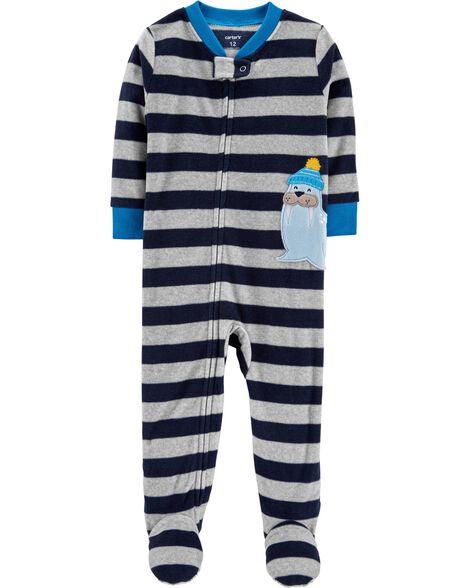 006f1c6b5b69 1-Piece Walrus Fleece PJs