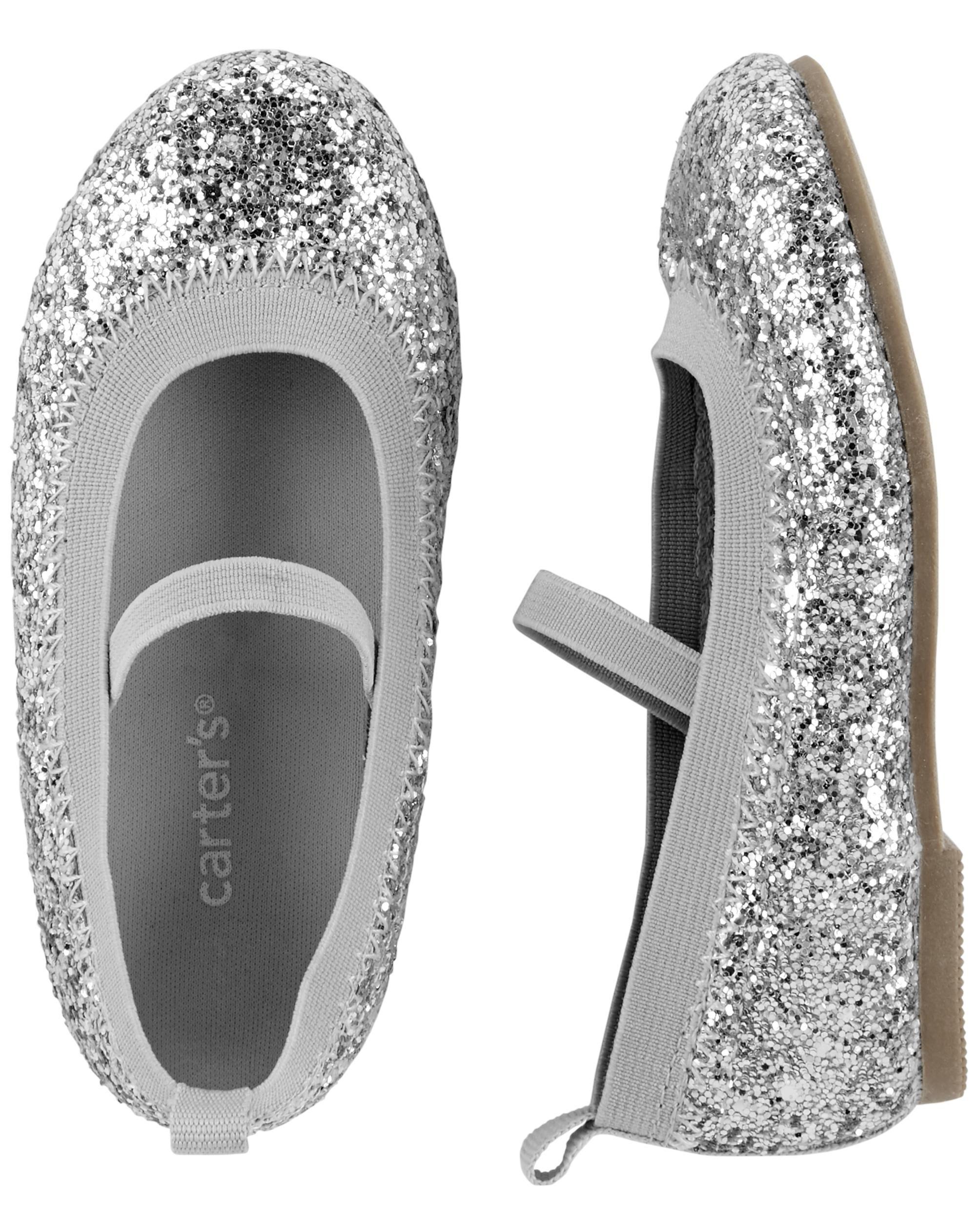 Carter's Glitter Ballet Flats | carters.com