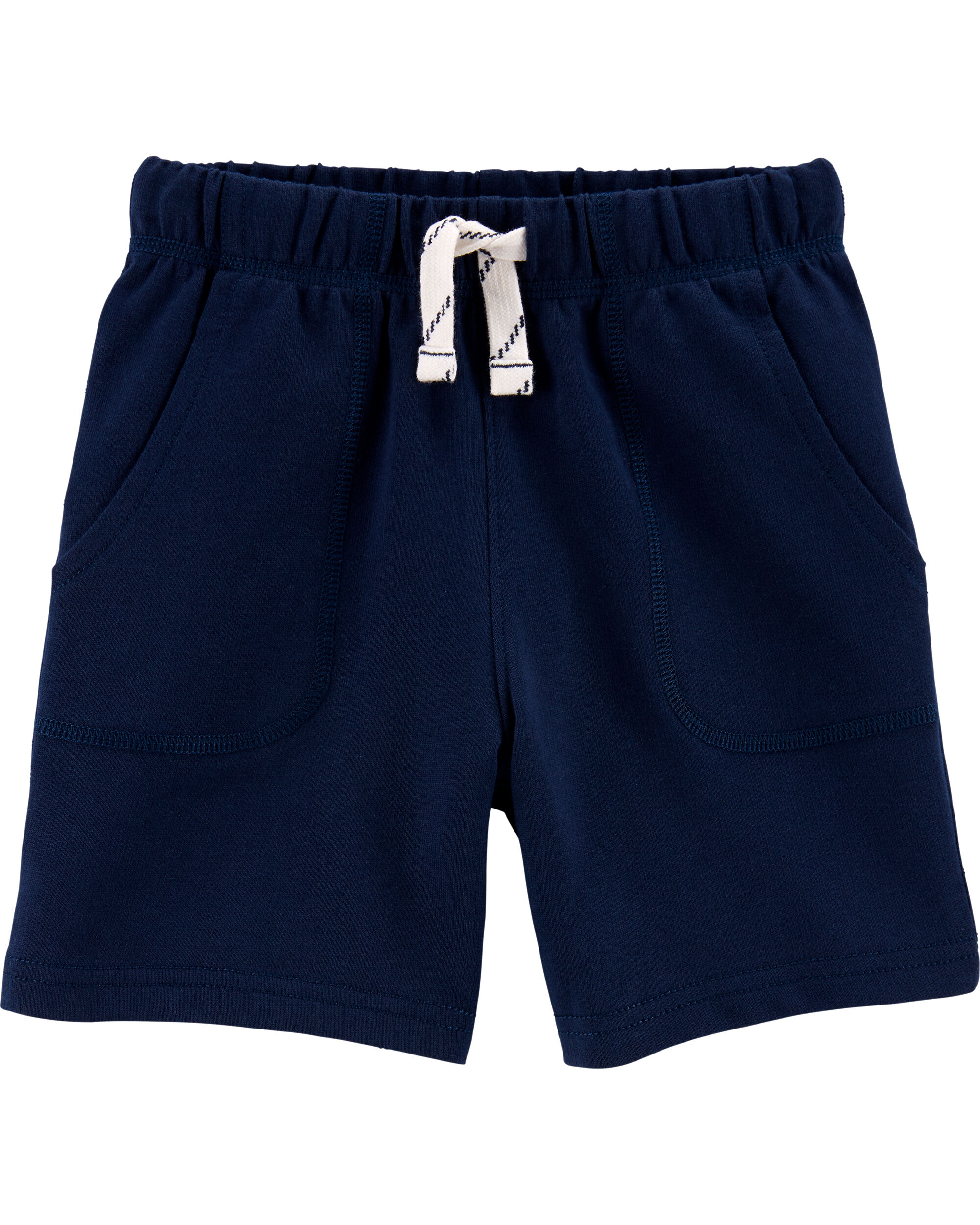 3T Orange Carters Boys Flat Front Canvas Shorts