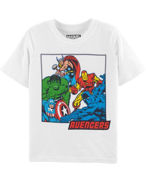 8b983f0ccdaa6 Kid Boy Avengers Tee