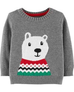 Christmas Polar Bear Pullover