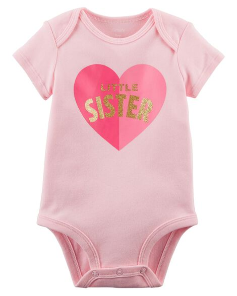 230e63bfa Little Sister Collectible Bodysuit   Carters.com