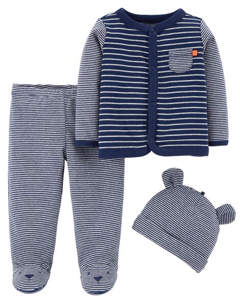 3cedf972d 3-Piece Footed Pant Set