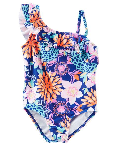 77dfdcf99f Kid Girl OshKosh Floral Print Swimsuit | OshKosh.com