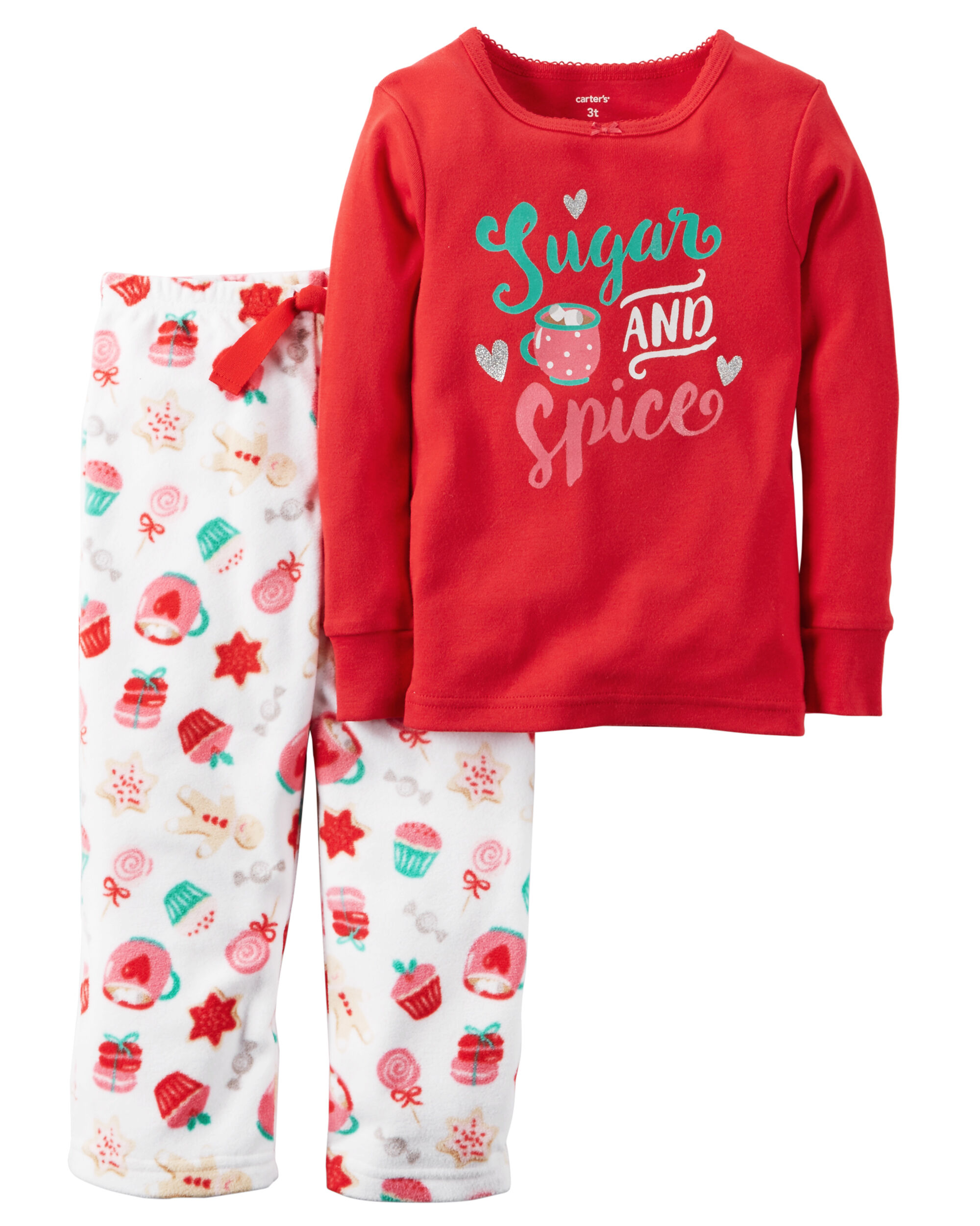 Toddler Christmas Pajamas Personalized