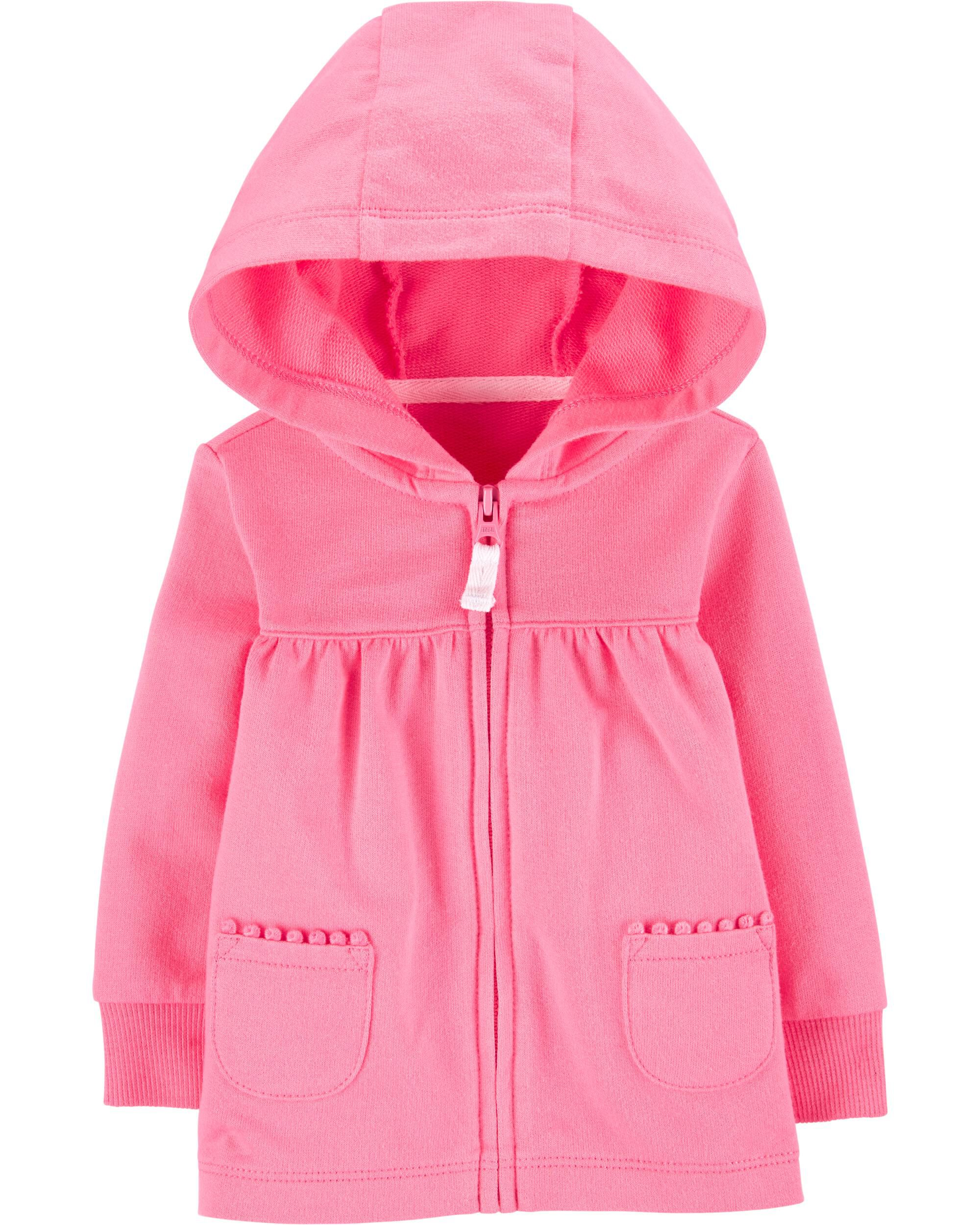 *CLEARANCE* Zip-Up French Terry Hoodie