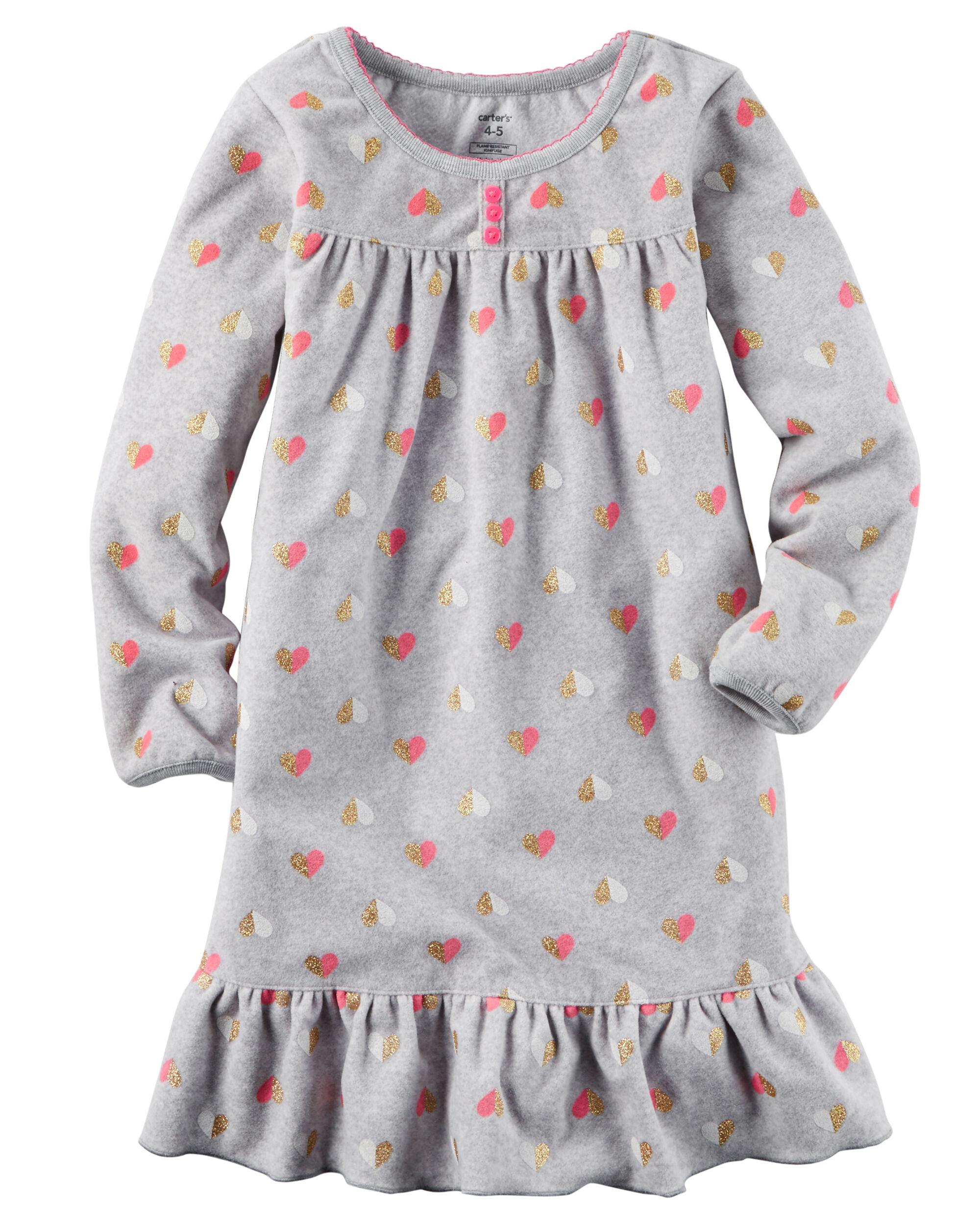 Fleece Sleep Gown | Carters.com