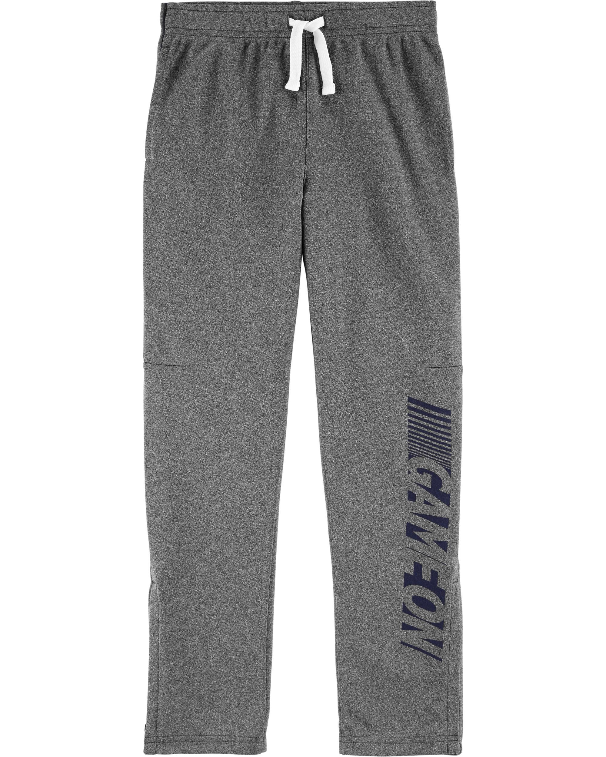 Boys Carters Tricot Active Pants Black Size 5 Brand New
