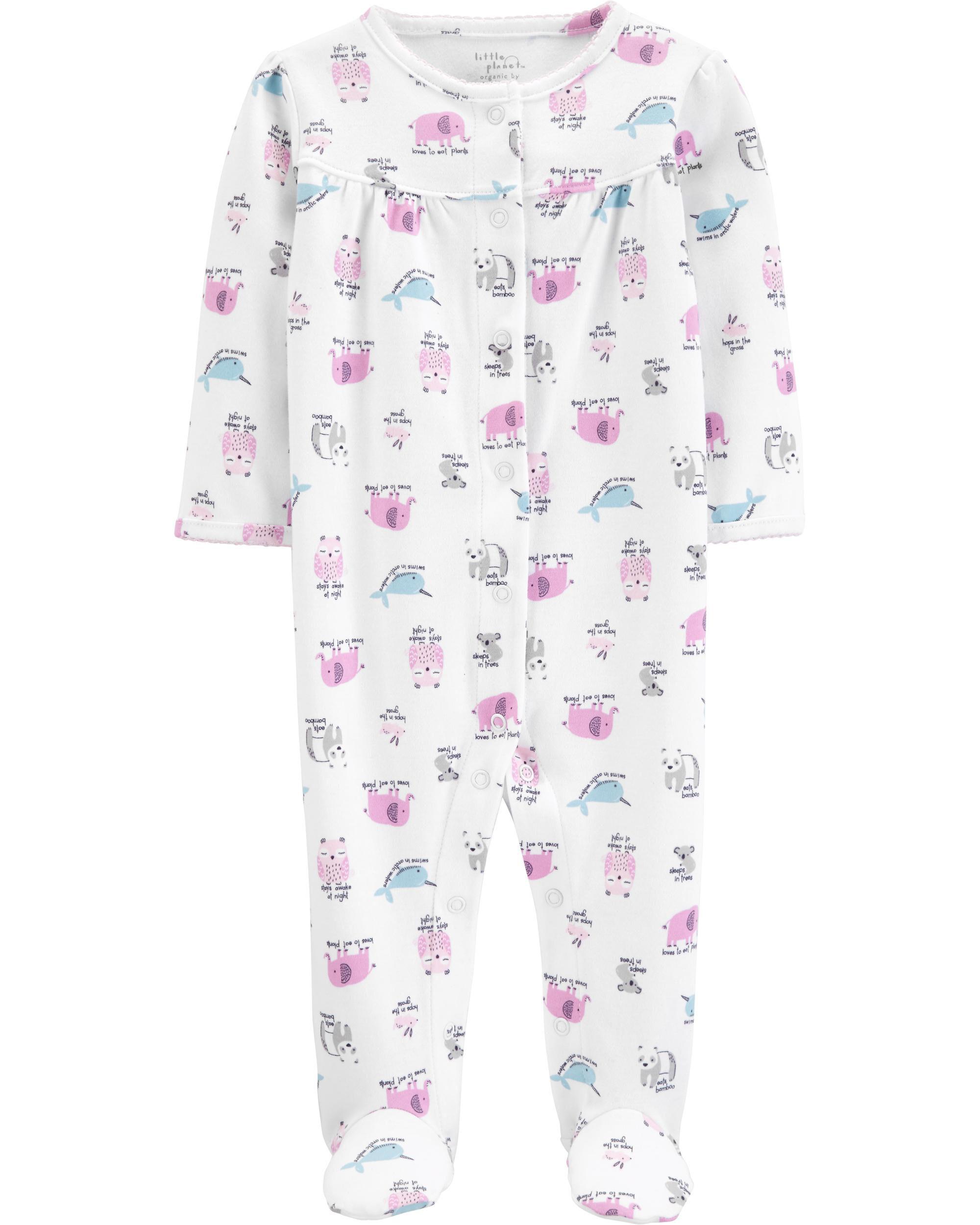 CARTER/'S SLEEP AND PLAY GIRLS ELEPHANT OUTFIT NWT CUTE!