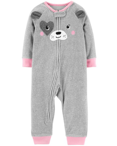 5f19223632 1-Piece Dog Fleece Footless PJs ...