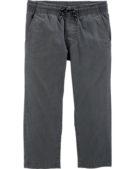 Lined Pull-On Pants