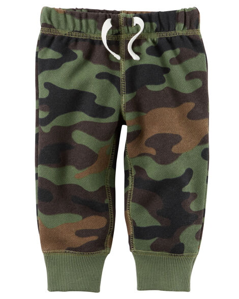Brushed Fleece Pull-On Pants