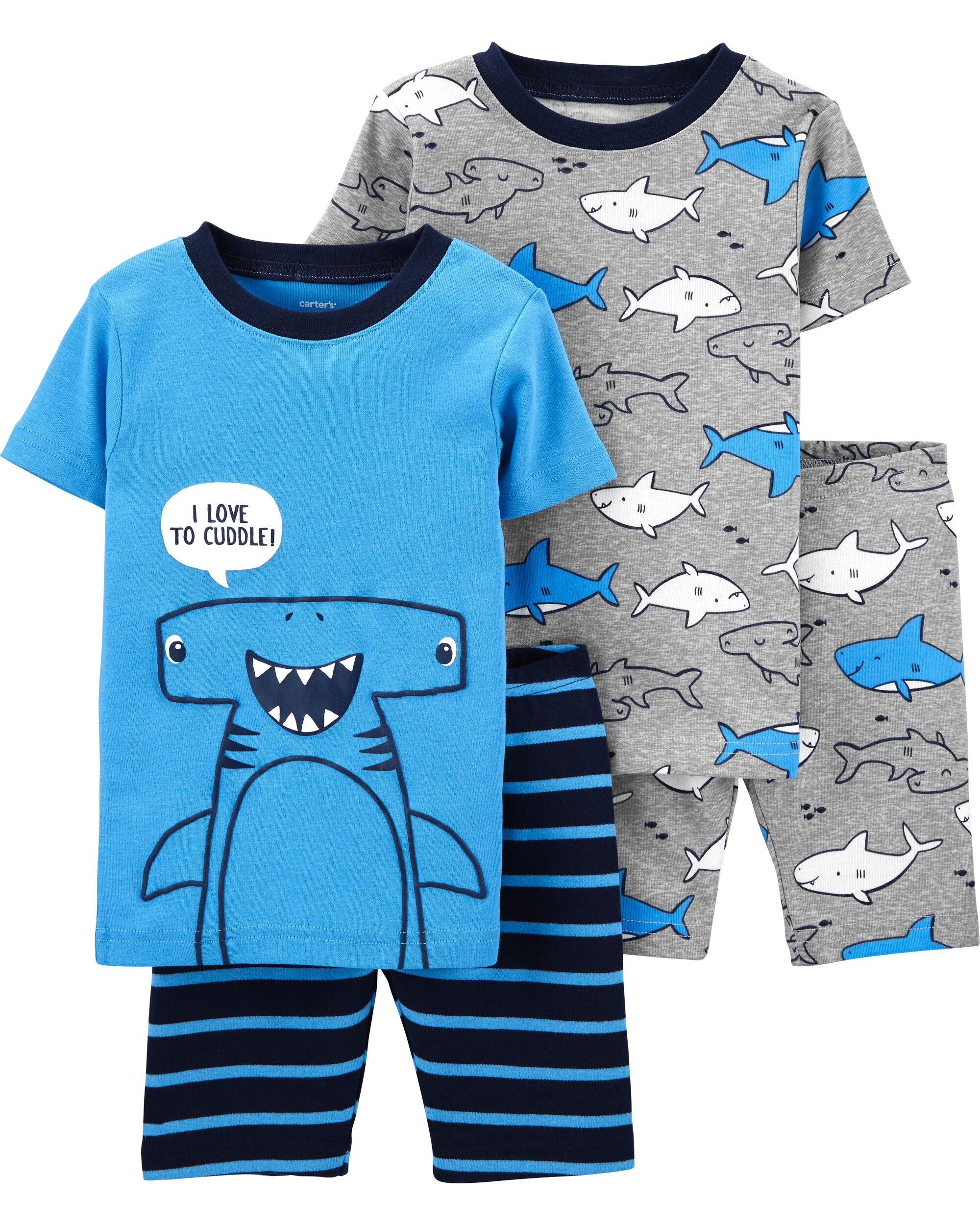 Skateboard Beach, L 14 Tee /& Shorts Saint Eve Kids/' Boys 3-Piece PJ Set Tank