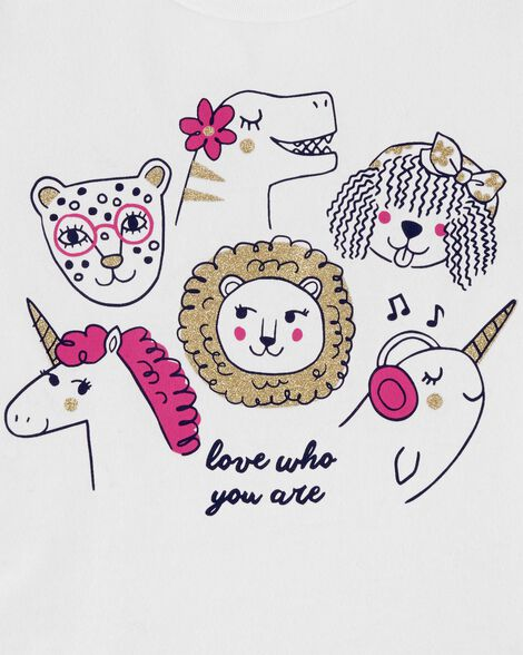 Love Who You Are Jersey Tee