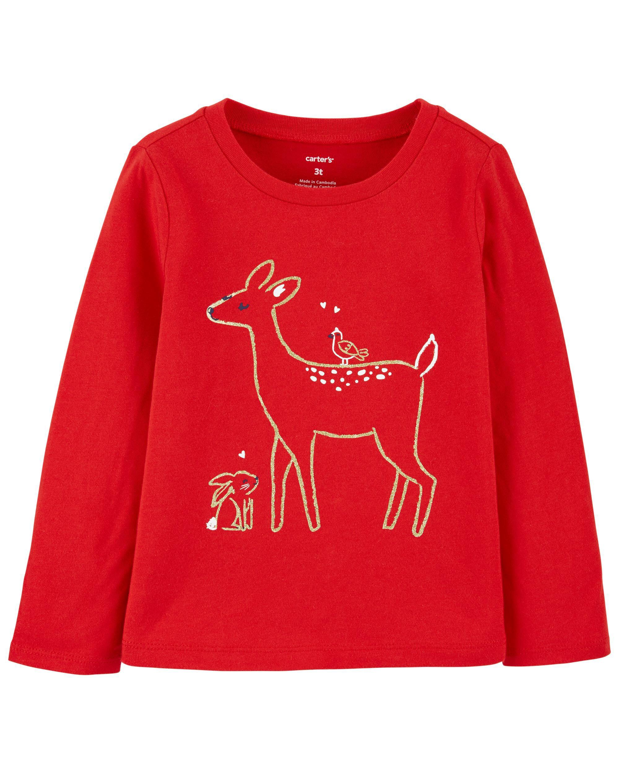*CLEARANCE* Reindeer Jersey Tee
