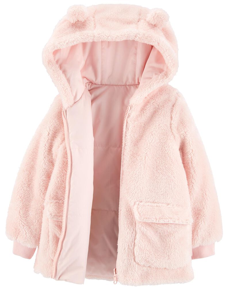 Sherpa Hooded Jacket, , hi-res