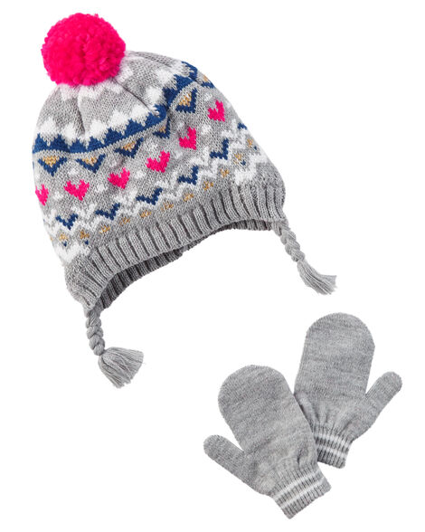 Hat   Mitten Set  434be9ed2ea