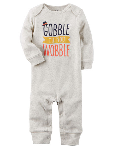 Gobble Til You Wobble Jumpsuit