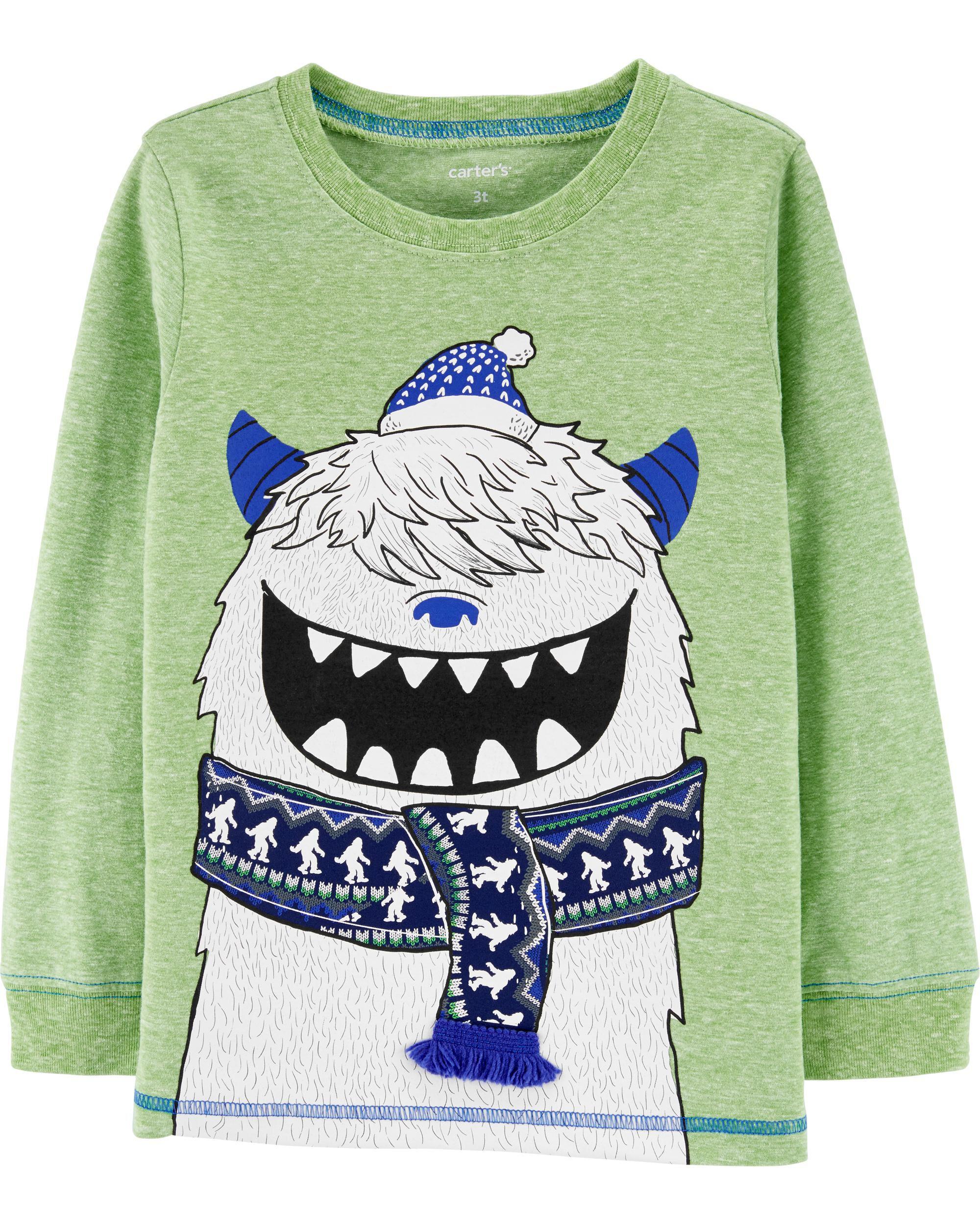 *CLEARANCE* Abominable Snowman Snow Yarn Jersey Tee