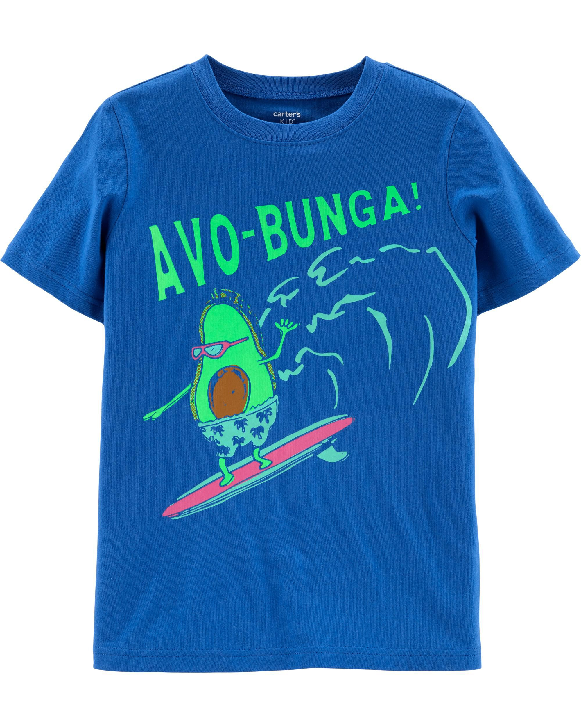 *CLEARANCE* Surfer Avocado Jersey Tee