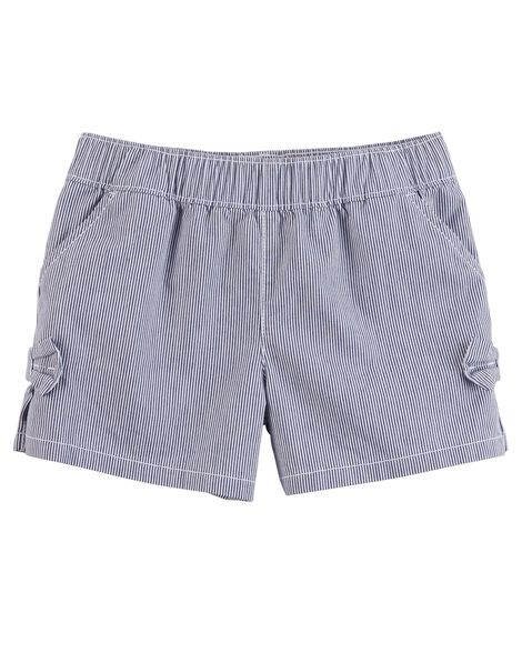 Easy Pull-On Bow Shorts