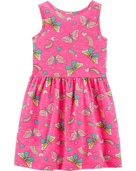 acd3c7e0a8a5 Neon Ruffle Butterfly Dress · Neon Ruffle Butterfly Dress ...