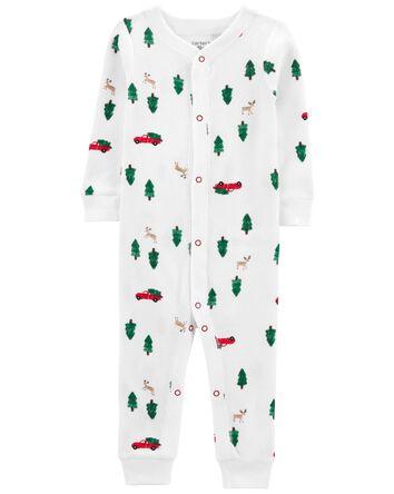 1-Piece Christmas 100% Snug Fit Cot...