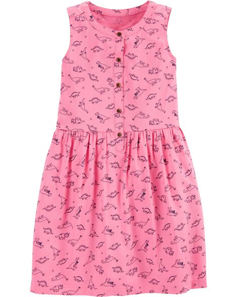 Dinosaur Sateen Dress