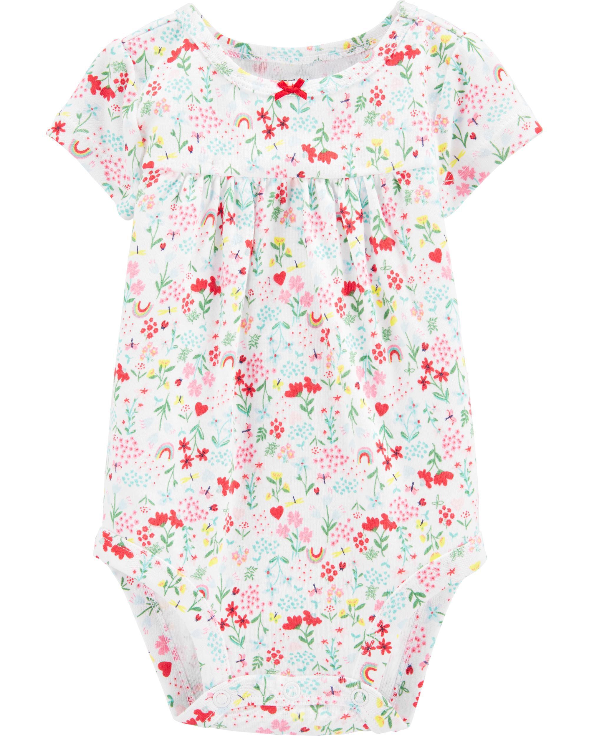 *CLEARANCE* Floral Bodysuit