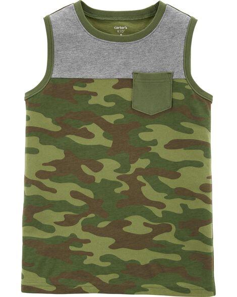 Camo Pocket Jersey Tank
