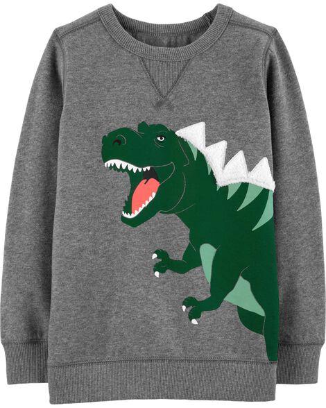 Dinosaur Fleece Sweatshirt
