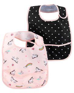 Baby Girl Burp Cloths Teething Bibs Carter S Free Shipping