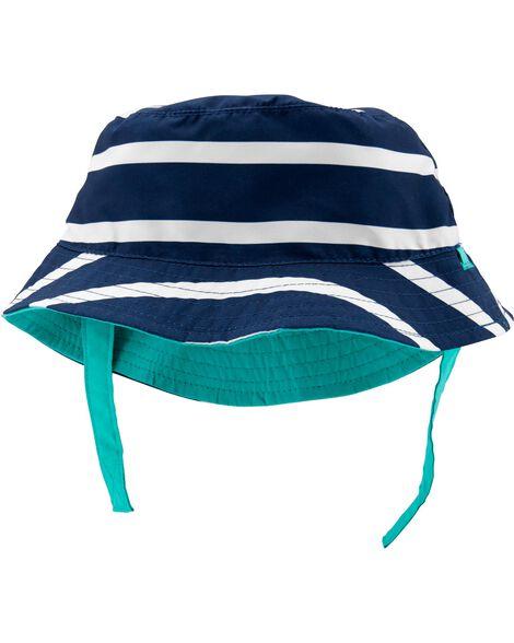 2714e1a3e969c Baby Boy Reversible Bucket Hat
