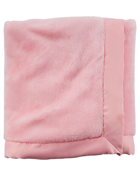 Satin Trim Boa Blanket Carters Com