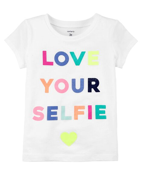 Love Your Selfie Jersey Tee