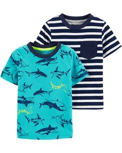 85bf569739b2 Baby Boy Tops: Collared & Dress Shirts, T-Shirts | Carter's | Free ...