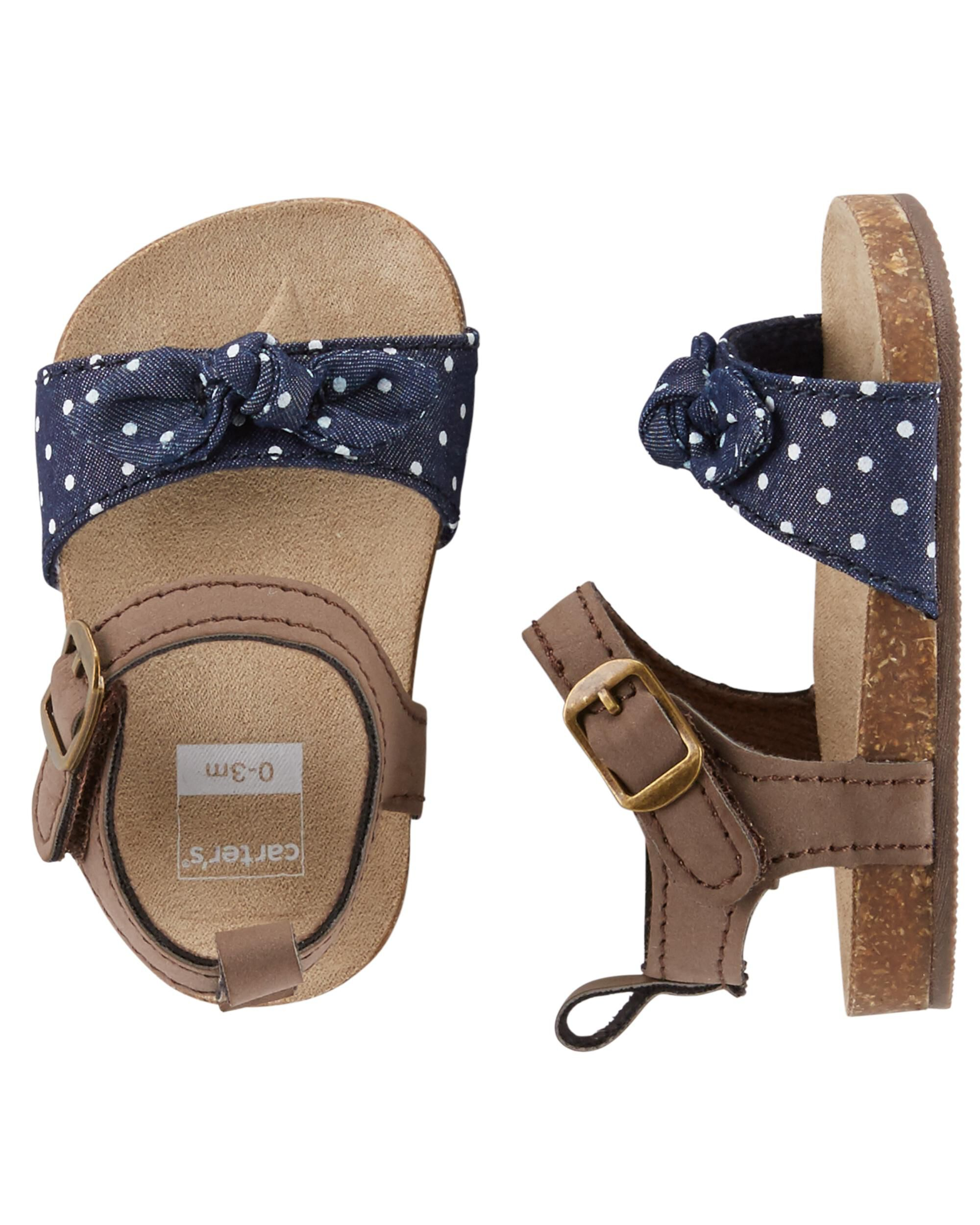 Carter s Sandal Crib Shoes