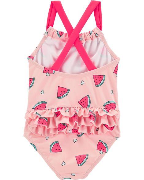 Carter's Watermelon 1-Piece Swimsuit