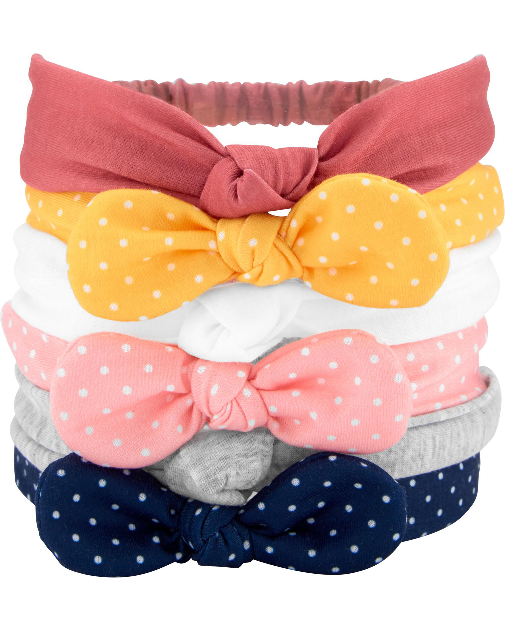 6-Pack Bow Headwraps