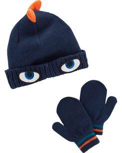 Character Hat   Mitten Set 98bc94d1bb0