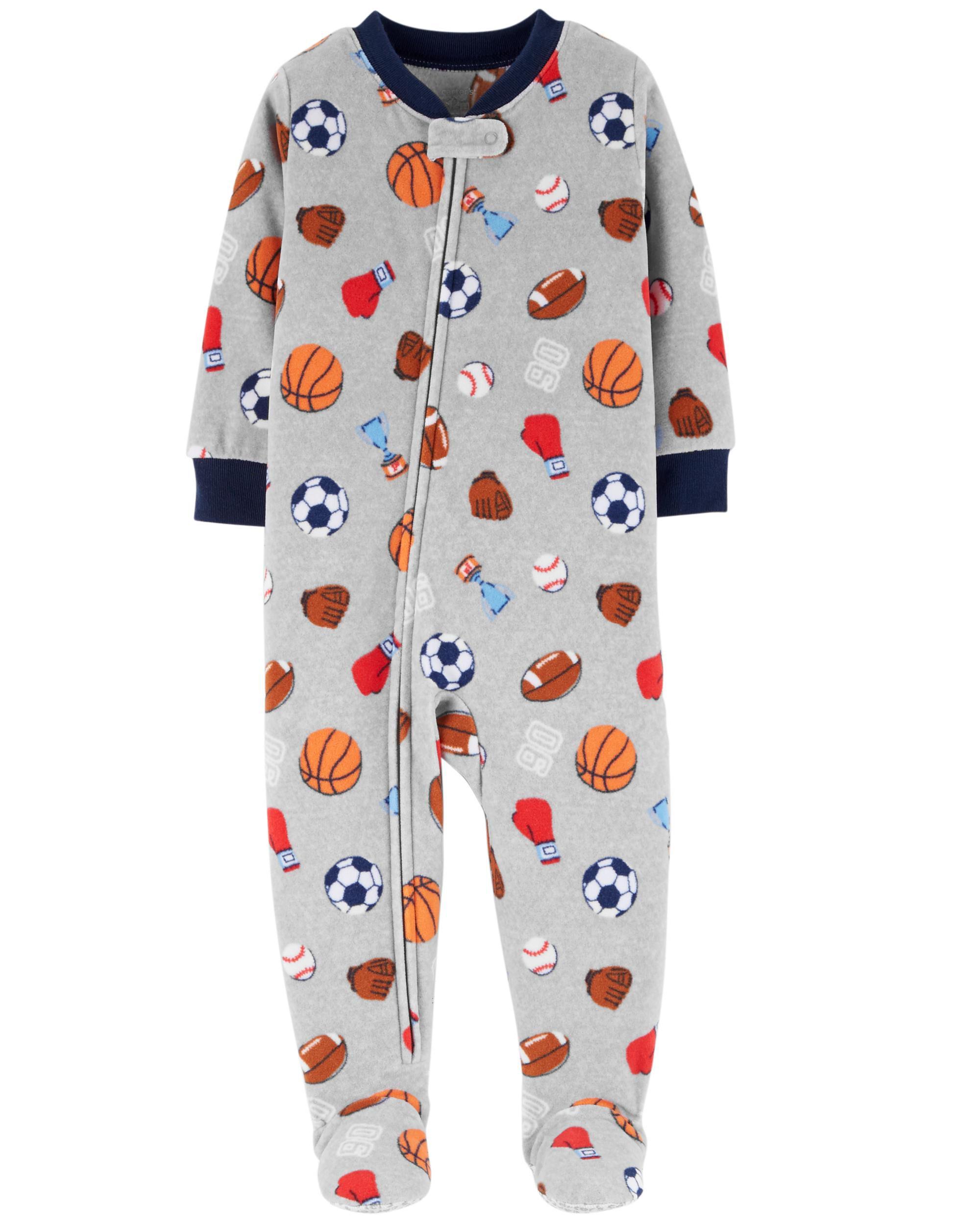 Little Big Boys Pajamas Christmas Car Cotton Gift 2 Piece Children ...