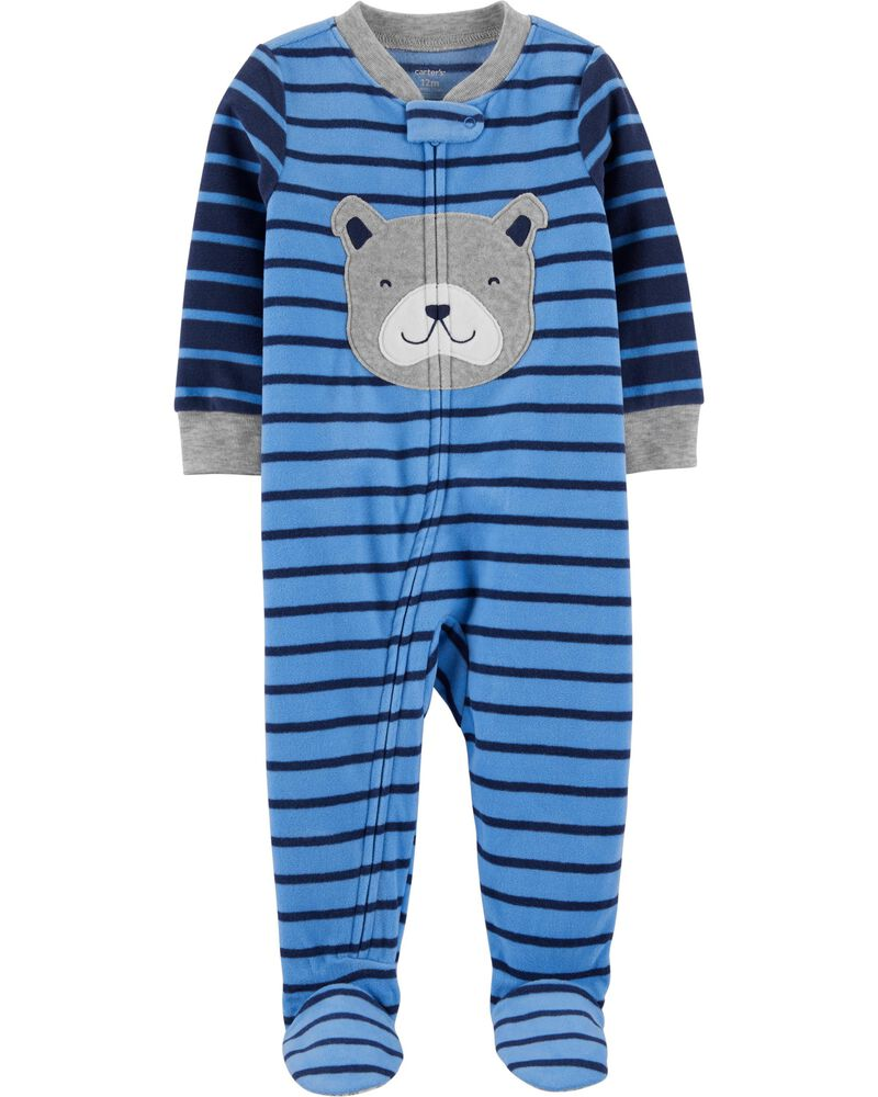 Toddler Carters Little Boys Striped Footie